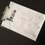 Eine kleine Liste der Arbeitspakete vom ersten Treffen!